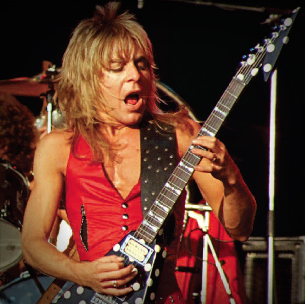 """The new """"guitar-face"""" fragrance, by Randy Rhoads"""
