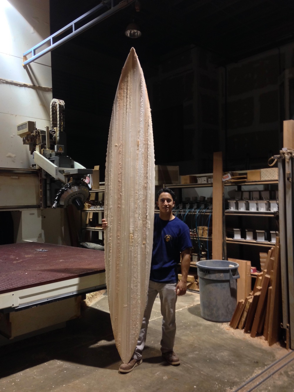 Chambered Surfboard