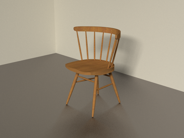 George Nakashima - Straight Chair