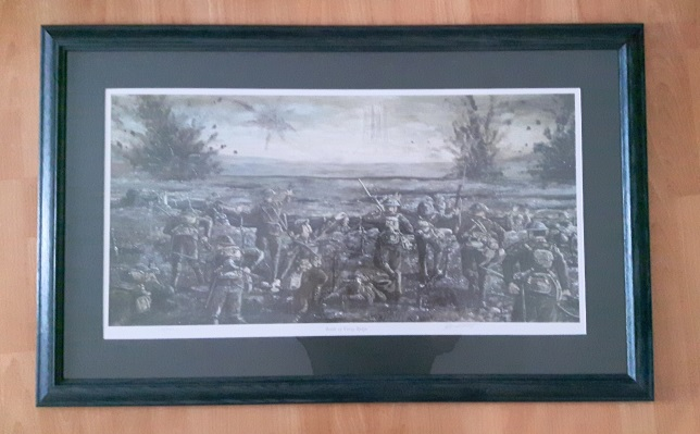 Battle of Vimy Ridge - large print