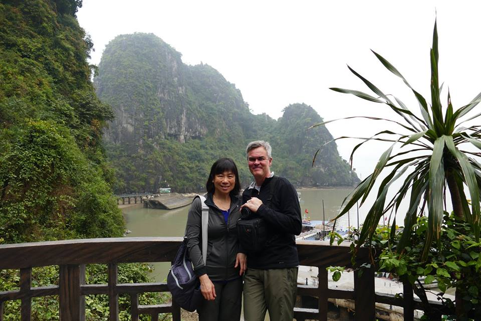 Lynnette and Han in Vietnam