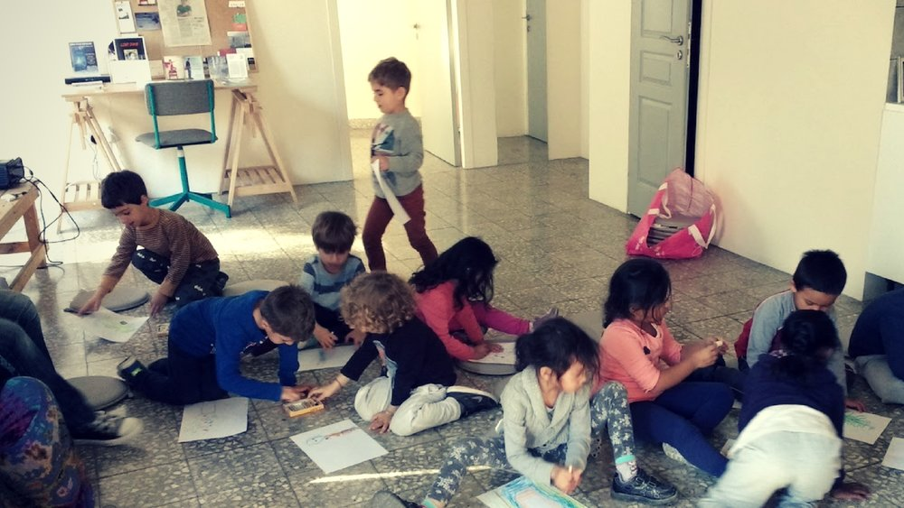 Kids Tell Stories at Write CY