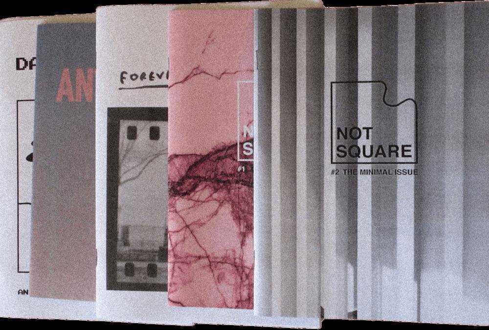 Lefki Savvidou | Various zines