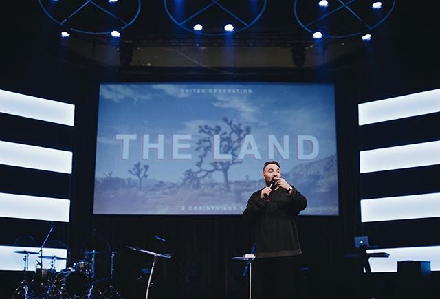 "Join us tomorrow night at our North Campus as we continue in our series, ""T H E  L A N D"". You do NOT wanna miss this. 7:30pm • • #thursdaysthenewfriday #ugcollege"