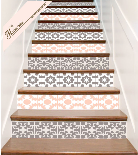stair decal crowbaby