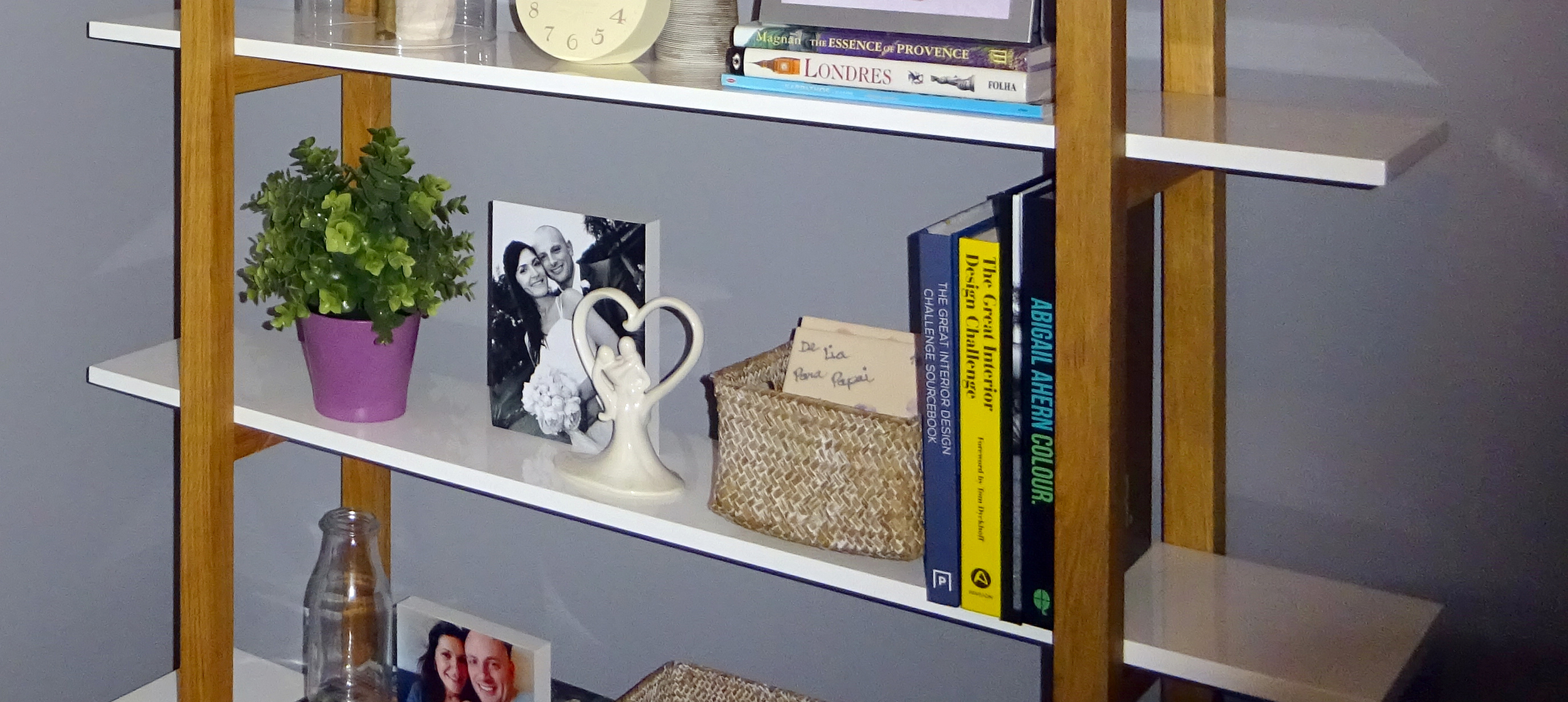 bookcase blog items