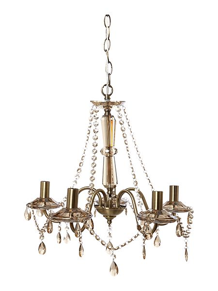 house of fraser brass chandelier