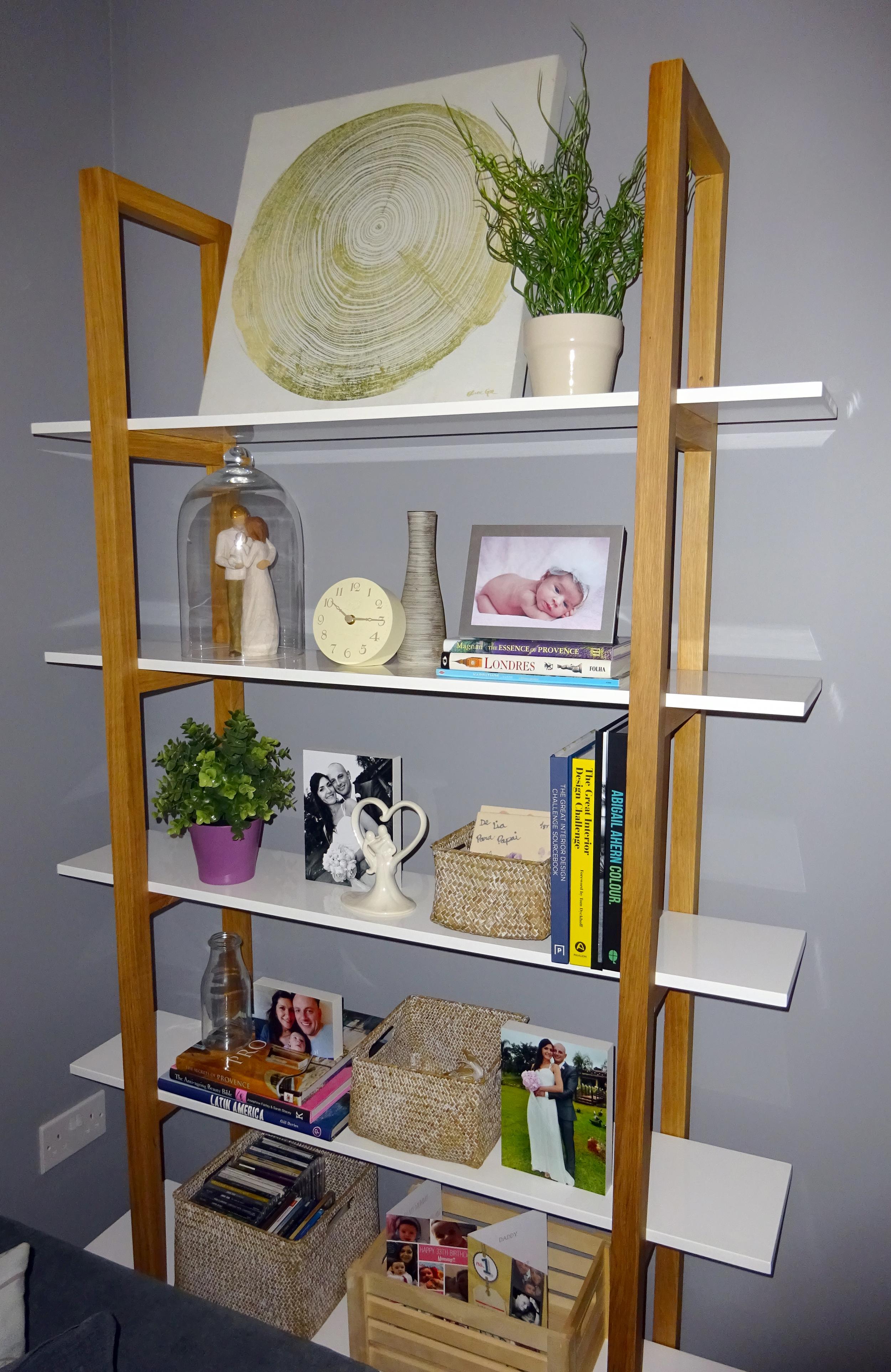 full bookcase