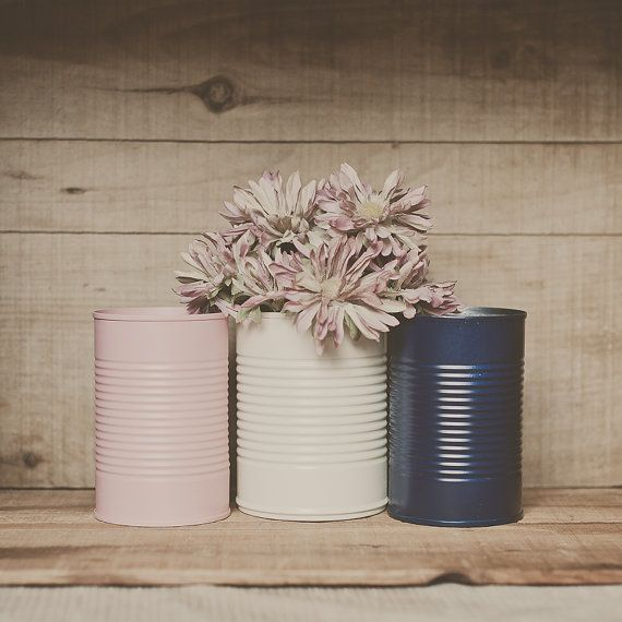 navy pink tins