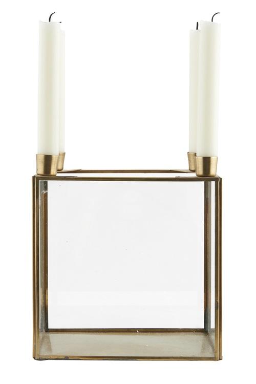 brass centrepiece