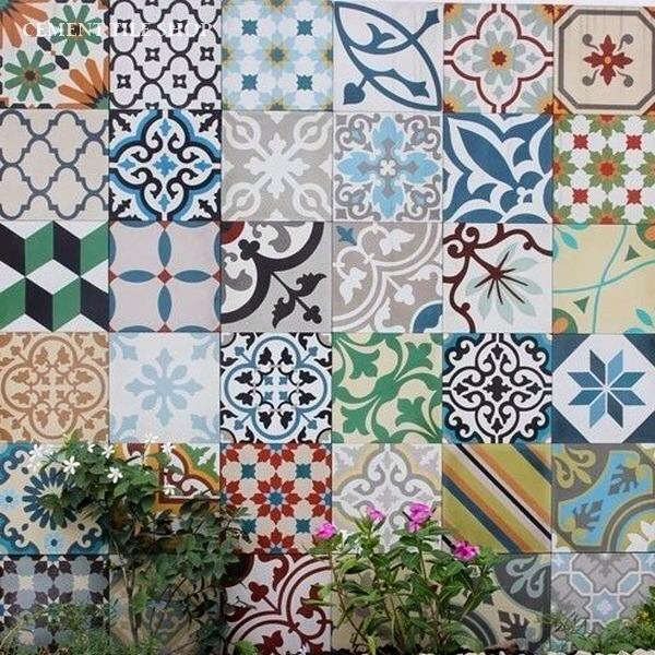 Colourful Wall Tiles Bring Warmth Into Your Home  The Room Alive