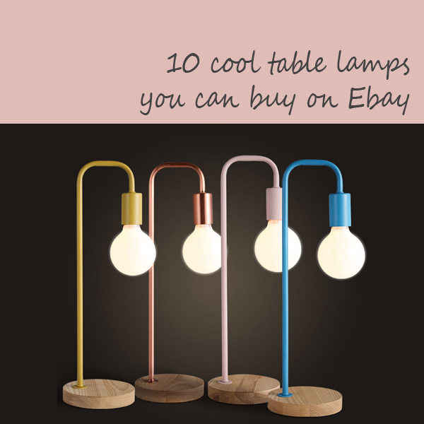 cool table lamps ebay intro
