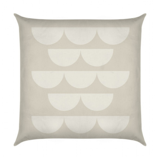 Quant Putty Petal Cushion