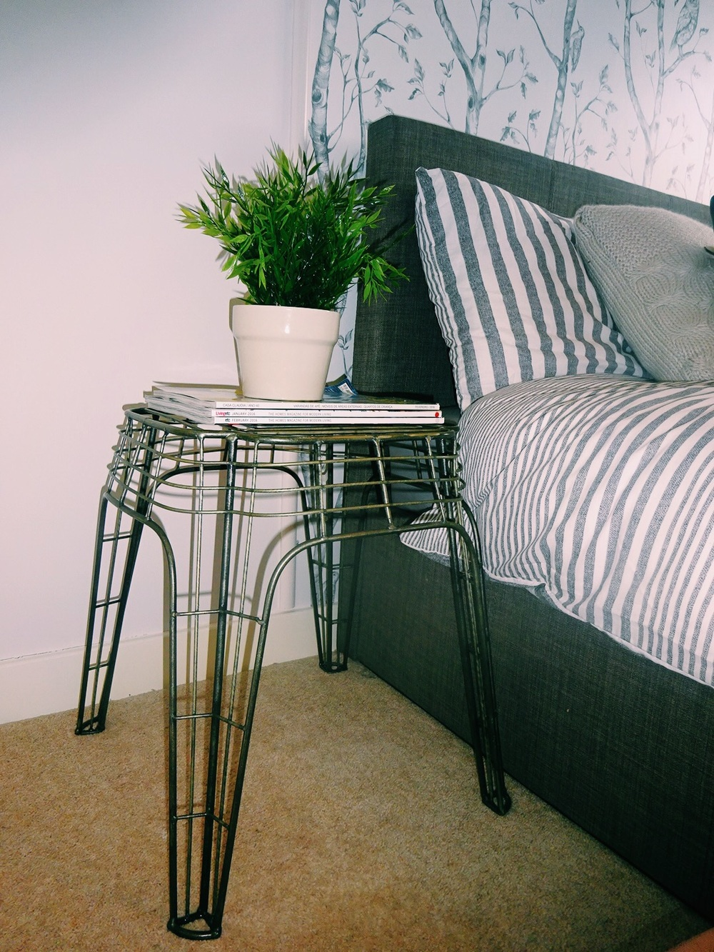 Side table by Zara Home.