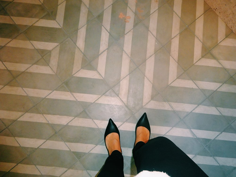 I have a crush on these tiles now...