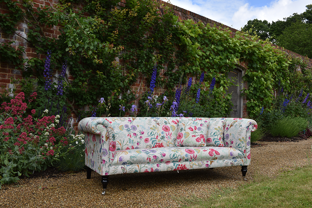 Camdem Sofa in Botanical Print