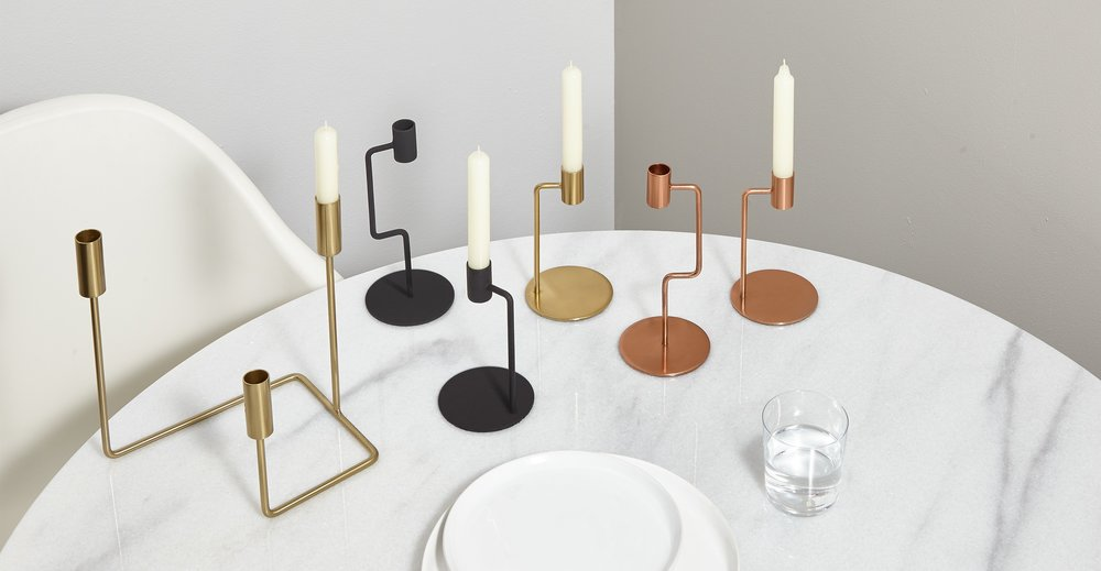 candle holders made.com