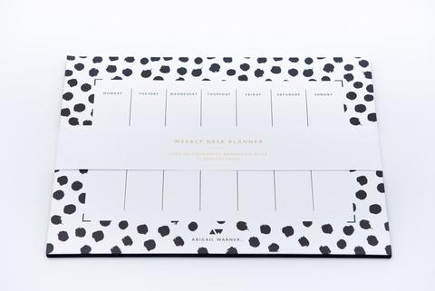 dalmatian spots weekly planner