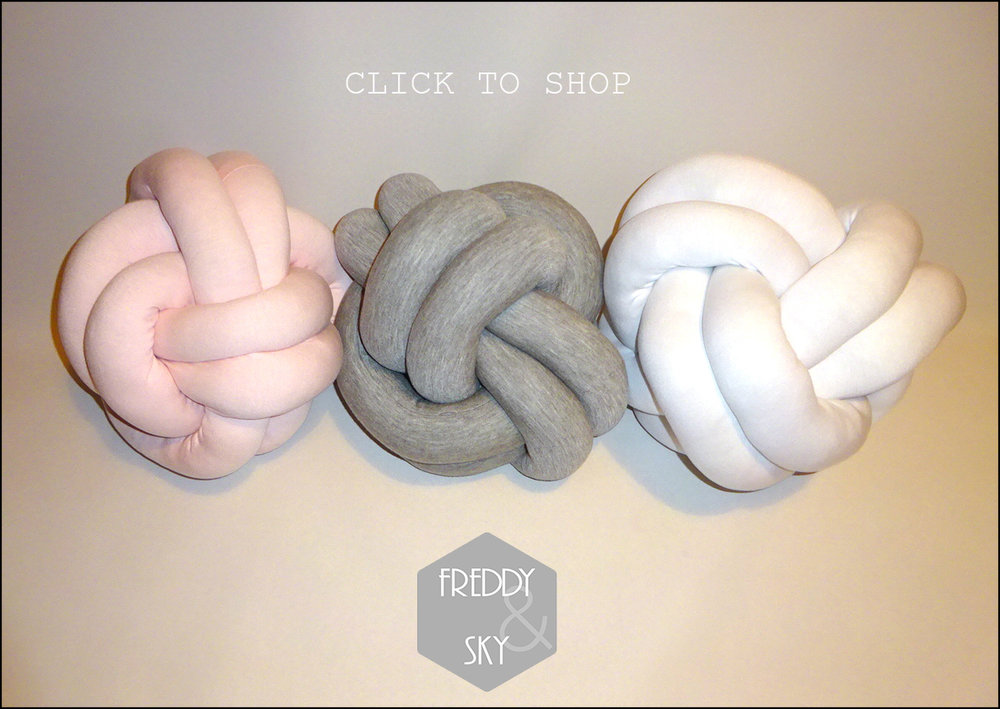 knot cushion shop
