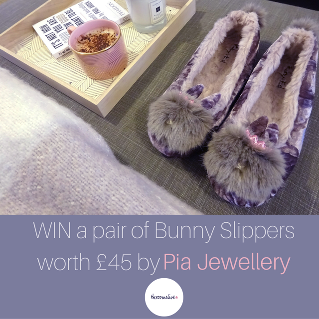 competition giveaway slippers