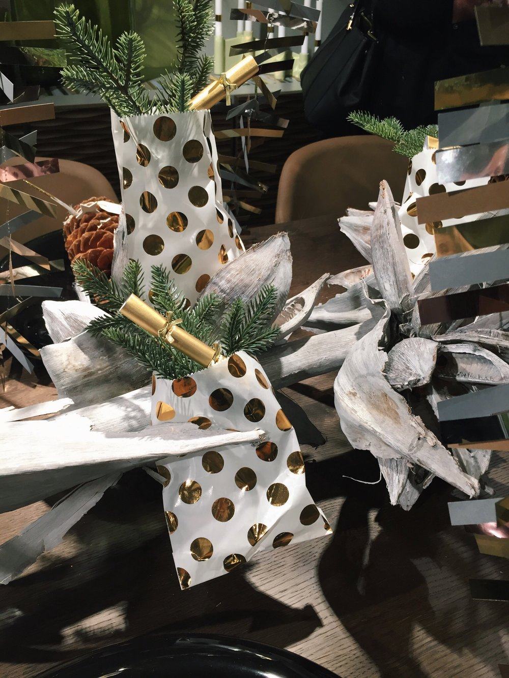 Festive party inspiration at Living Etc & Calligaris Event