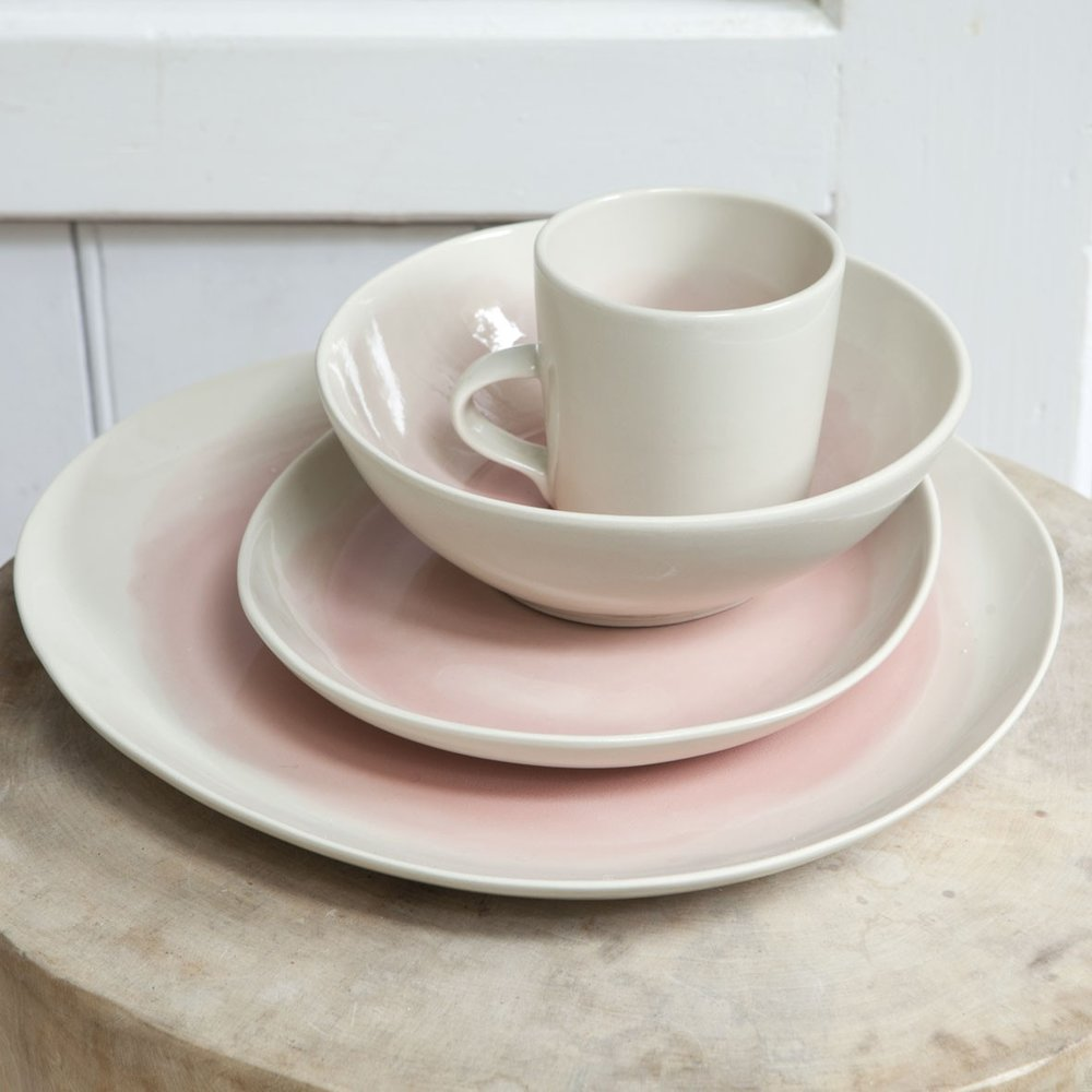 dassie artisan blush serveware plate bowl and mug the room alive