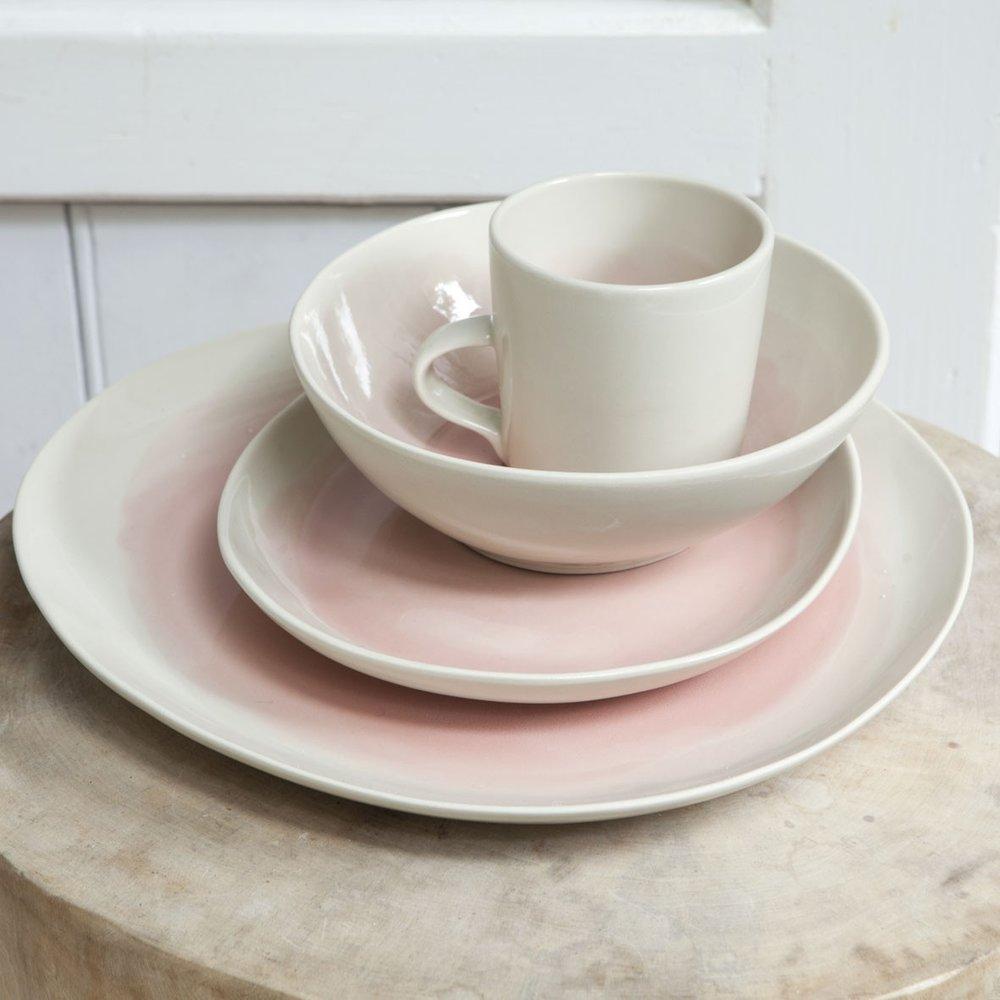 dassie artisan blush serveware plate bowl and mug the room alive