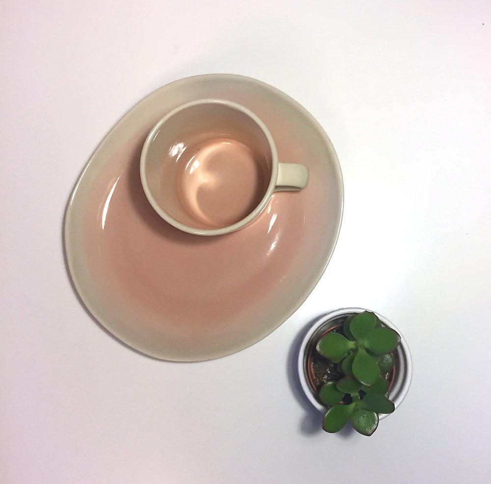 blush mug plate dassie artisan the room alive