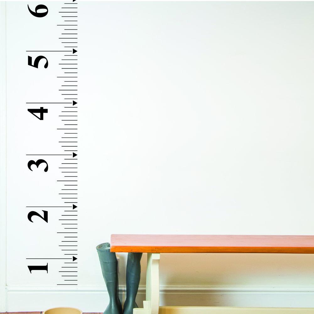 Tape Measure Wall Sticker Nutmeg Wall Art Designer Wallpaper