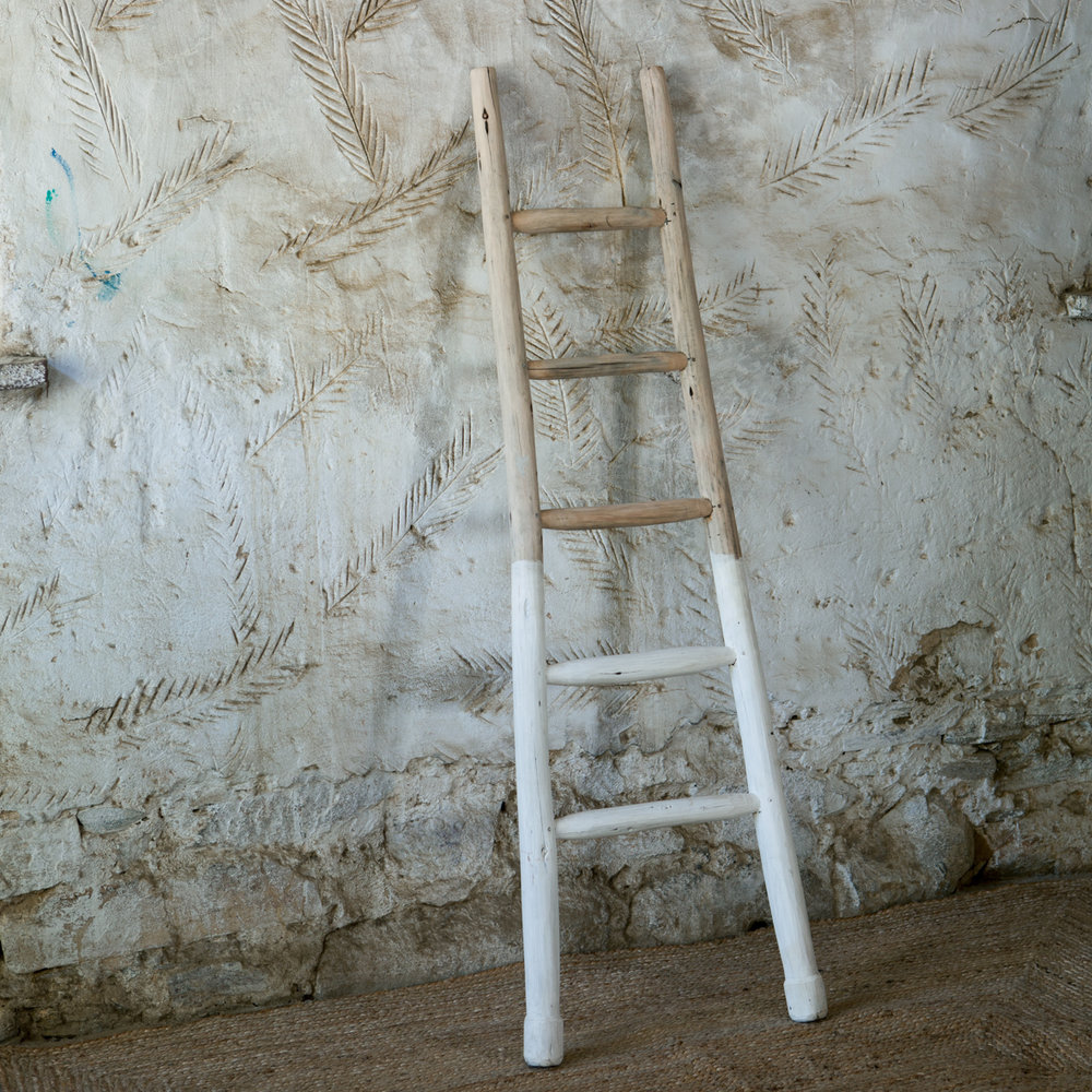Mbali Dipped White ladder
