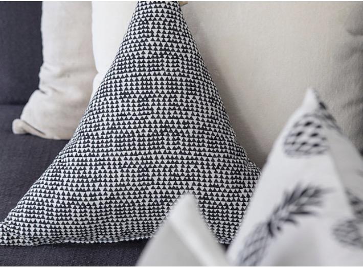Cairo Triangle Cushion