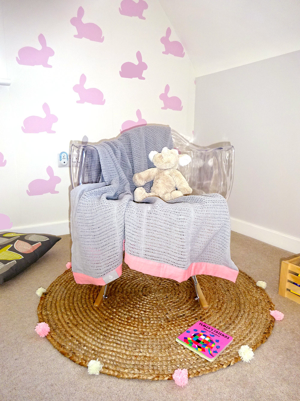rocking chair girls bedroom
