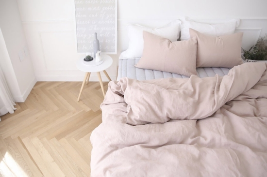 Blush White And Grey Bedroom Inspiration The Room Alive
