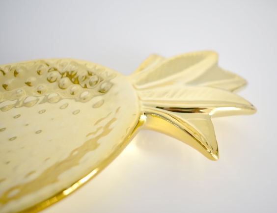 Gold Pineapple Trinket Dish £7.50