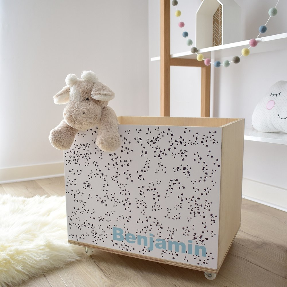 wooden toy storage crate dots boys 3.jpg