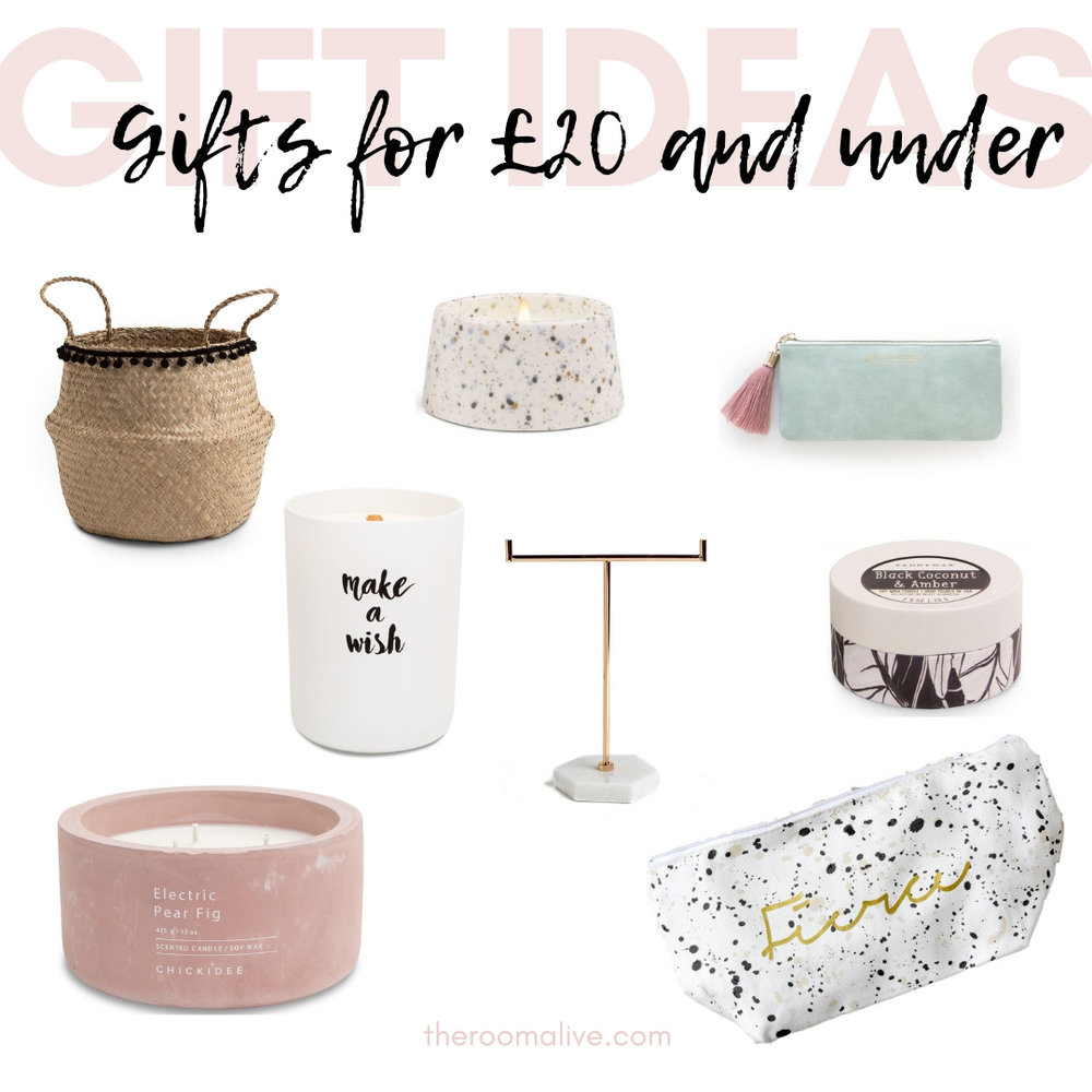 Christmas gift guides £20 and under