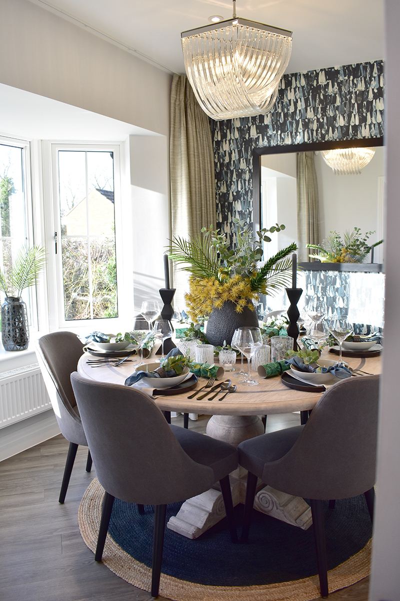 Cala homes dining room