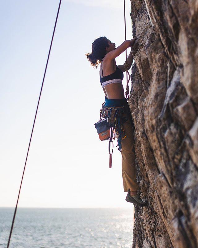 Alright climbing spot 🌊