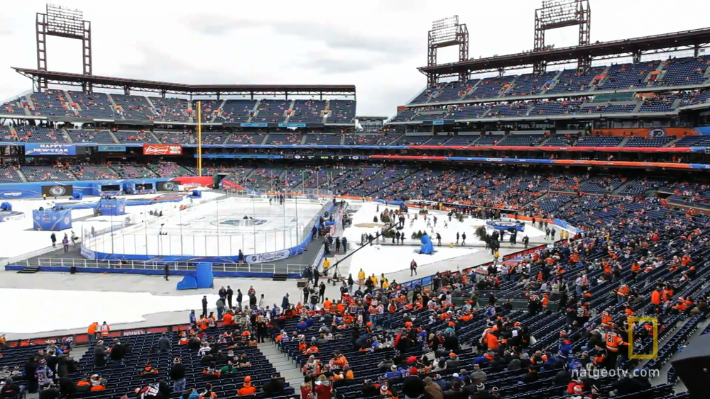 Beyond the Puck | Outdoor Hockey