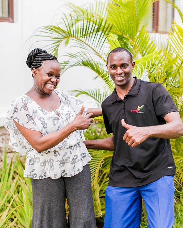 "It's time for this week's Friday Introductions! Meet our Waithaka center staff, Dorcas & Dan! Dorcas is the Waithaka Health Counselor. Her middle name is Mwende, which means ""one who is loved"" and this is definitely true! We love both her and Dan! She got married last year and is currently expecting her first baby! In her spare time, Dorcas enjoys writing poetry. Dan is the Waithaka Spiritual Counselor. He is married to Hannah and they have two kids, John Mark & Precious. Dan is also a gospel singer and loves leading worship! The clients at Waithaka center always sing the praises of these two; they lead with joy and humility. Join us in celebrating them today by leaving some encouragement in the comments! #careforaids #fridayintroductions"