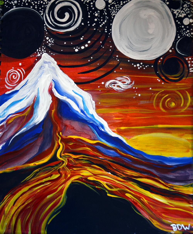 Glyphic Magma