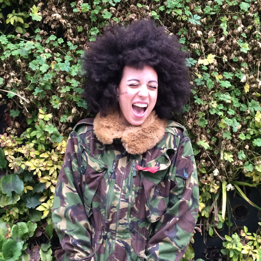 afro camouflage