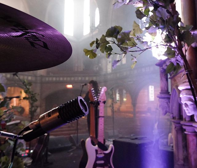 Origin at Union Chapel, On drum duties for Novo Amor. 🙌 This gig was Excellent!