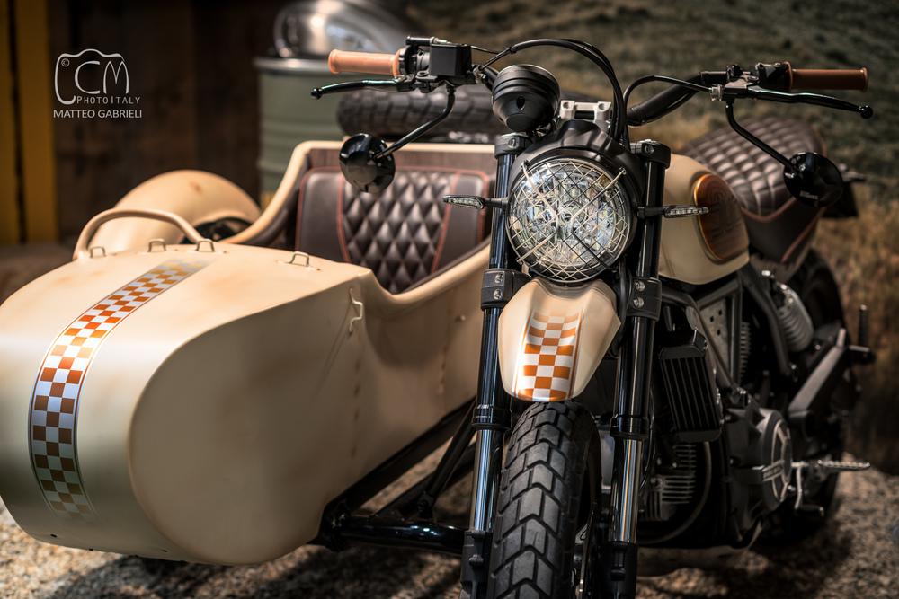 Ducati Scrambler sidecar