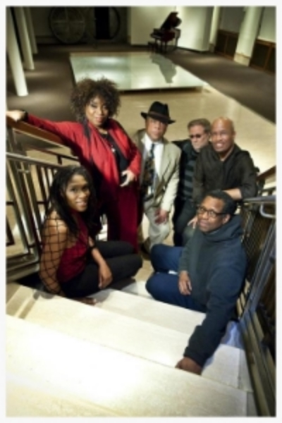 The Westchester Musicians for Haiti included (l-r) Mala Waldron, Lynette Washington, Abdul Wali, Dennis Bell, Bob Baldwin and Porter Carroll, Jr.