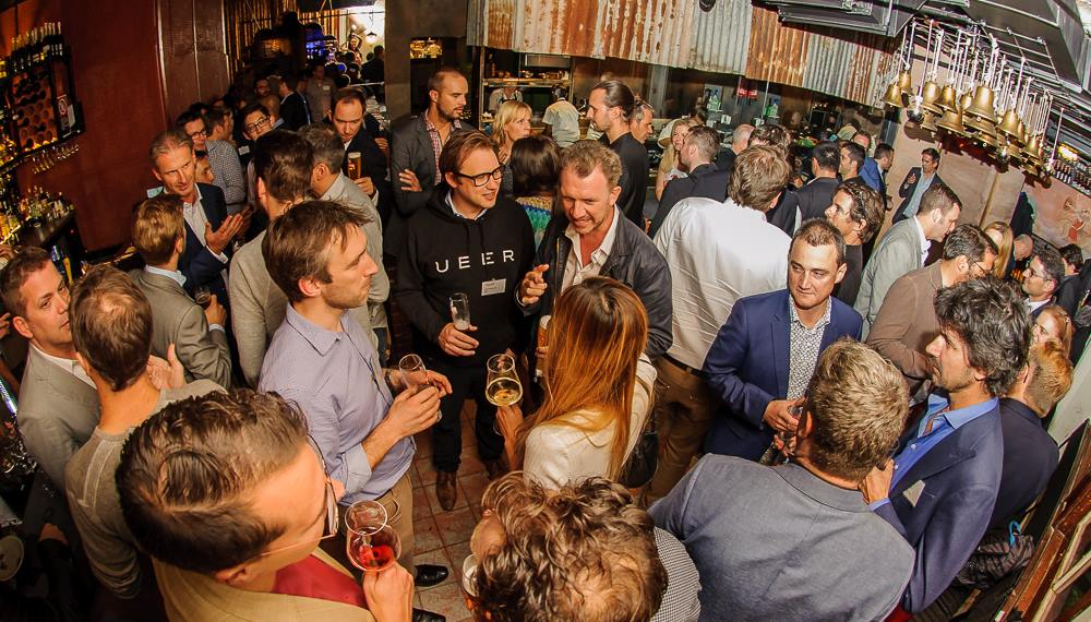 Recent networking event in Sydney where only 5 women can be seen