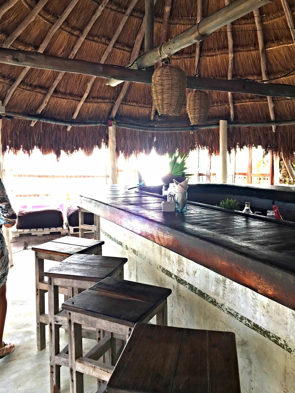 Bar at Papaya Playa