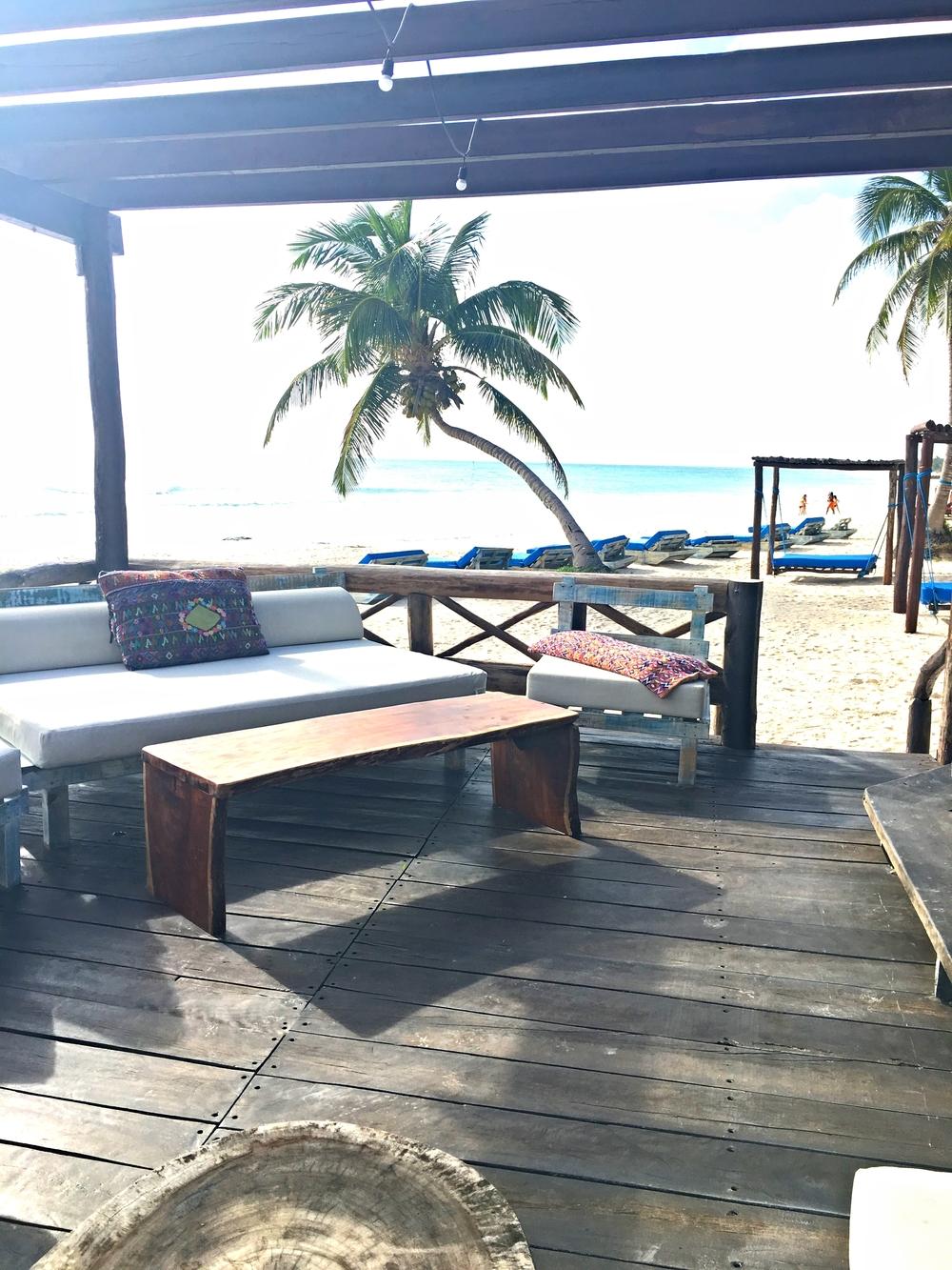 Deck at Hemingway Resort