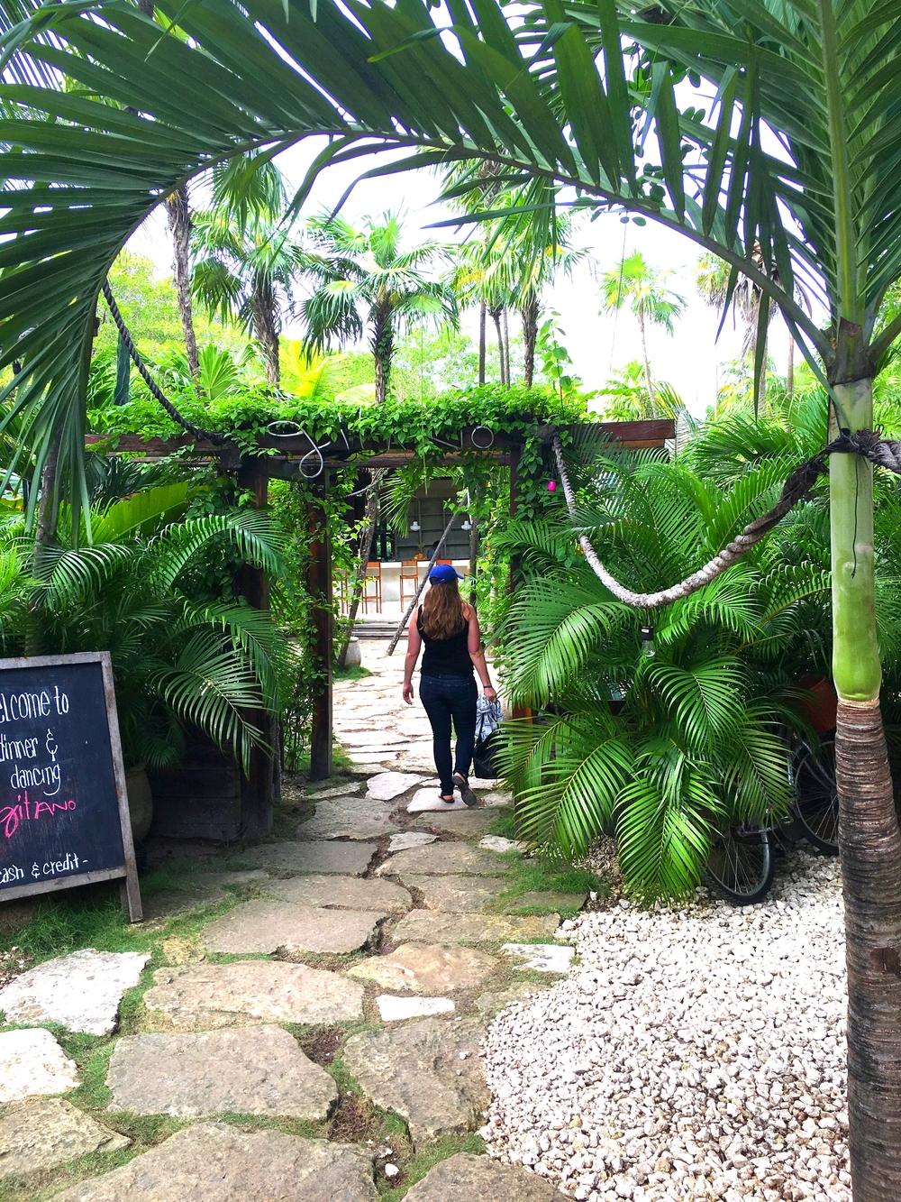 Entrance to Gitano - my favorite spot!