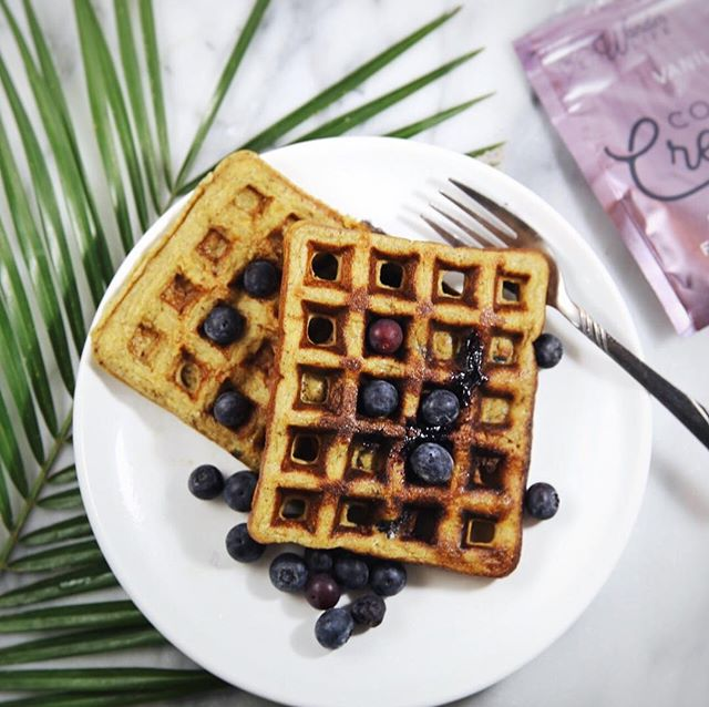 I BOUGHT A WAFFLE MAKER! Sorry for shouting but y'all, these actually turned out amazing 💕 and did I mention they're Keto?! Recipe below - ya welcome ☺️👍🏼 4 Large Eggs 4 TBSP Almond Flour 3 TBSP Vanilla Wander Life Creamer 1 TBSP Grassfed Ghee 1 TSP Baking Powder  Mix together thoroughly, put in waffle iron, eat, thank me later 😎 • • • • #austin #supportlocal #shoplocal #travel #journey #destinations #wanderlust #wanderlife #wander #vacation #healthy #jetset  #paleo #coffee #vegan #organic #glutenfree #dairyfree #nondairy #coconut #creamer #coconutcreamer #wheredoyouwander #health #wellness #selfcare